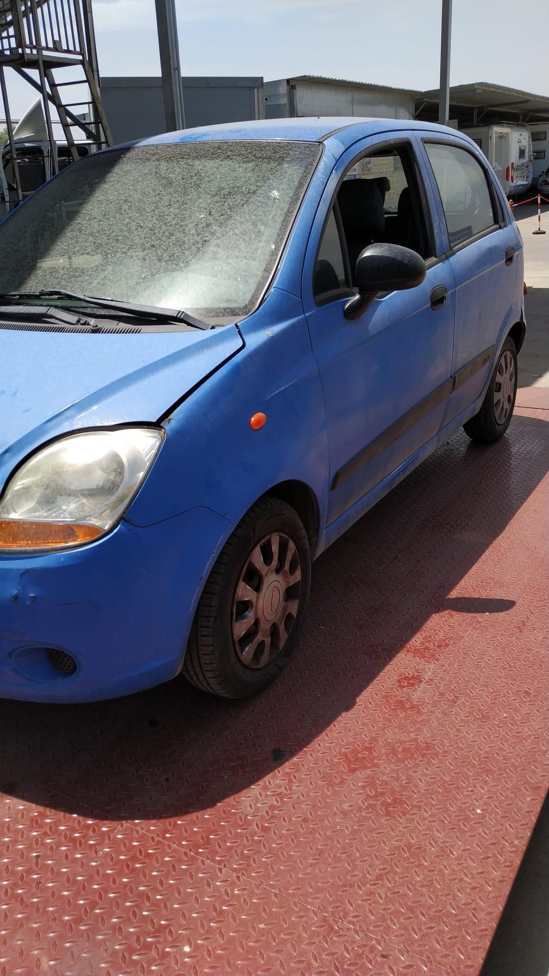 Read more about the article Chevrolet Matiz appena arrivata disponibile nel nostro autoparco di demolizione per la vendita di ricambi usati